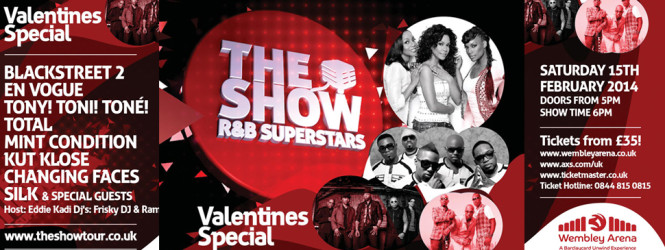 EVENT: The Show R&B Superstars – Valentines Special At London, Wembley