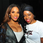 DJ D'Nyce and Teedra Moses